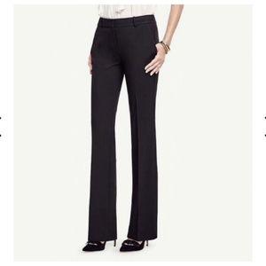 """Ann Taylor """"Curvy"""" Women's Black Pants Stretch 6"""